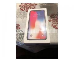 Apple iphone X Silver 256 GB