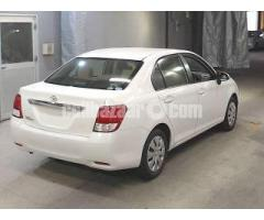 Toyota Axio X Pkg White Color Model 2013