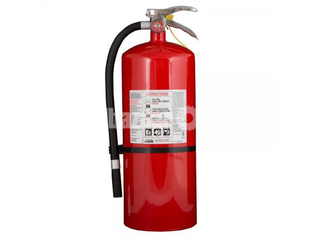 Fire Extinguisher ABCE Dry Powder 5kg - 1/2