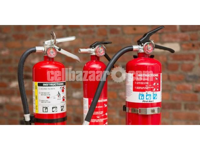 Fire Extinguisher ABCE Dry Powder 5kg - 2/2