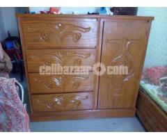 Wardrobe wooden