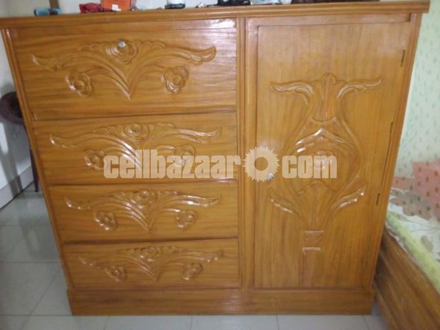 Wardrobe wooden - 2/2