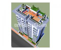 Flat aftabnagar 1350 sft south face  G block