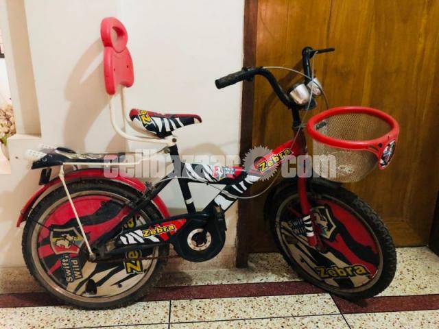 Zebra swift bicycle - 1/1