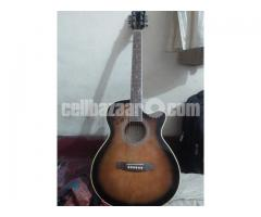 AXE pure acoustic guitar with equalizer