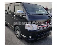 Toyota Hiace Super GL BLACK color model 2013