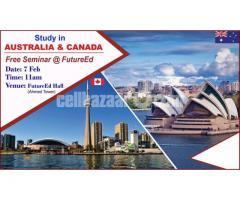 Study in Australia / Canada