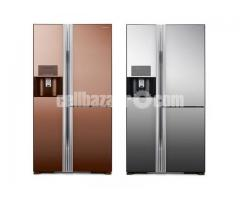 Hitachi Side by Side Refrigerators R-M700GPG2X 584Litres