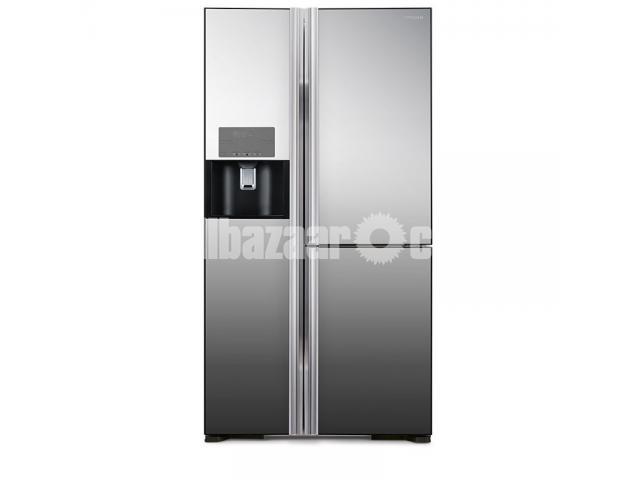 Hitachi Side by Side Refrigerators R-M700GPG2X 584Litres - 2/3
