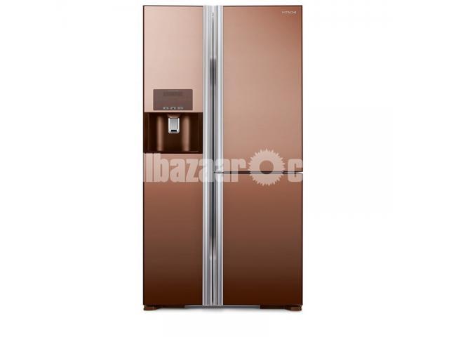 Hitachi Side by Side Refrigerators R-M700GPG2X 584Litres - 3/3