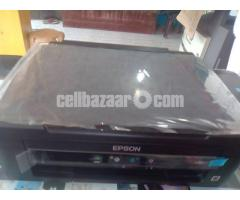 epson L380 Model printer sell hobe 20 day use scan copy print all in one