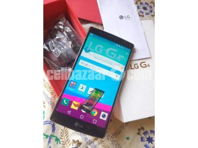 LG G4 RAM 3GB ROM 32GB ORIGINAL  NEW FULL BOX - 1/5