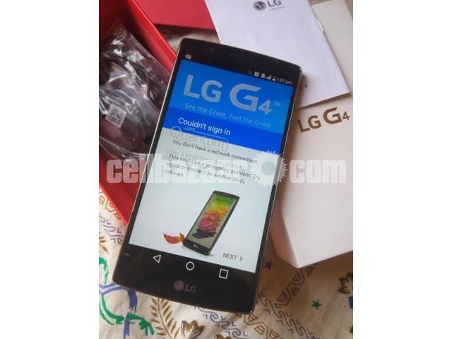 LG G4 RAM 3GB ROM 32GB ORIGINAL  NEW FULL BOX - 2/5