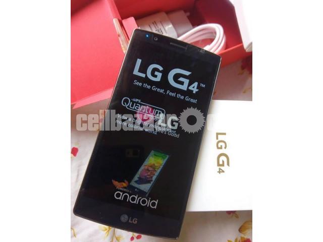 LG G4 RAM 3GB ROM 32GB ORIGINAL  NEW FULL BOX - 3/5