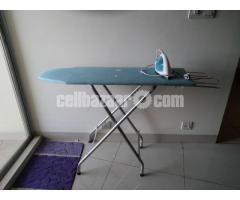 Ironing Board and  Iron Set