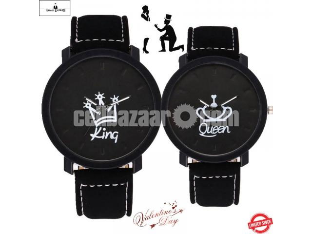 King & Queen Couple Watch for Gift! - 1/5
