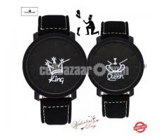 King & Queen Couple Watch for Gift! - Image 1/5