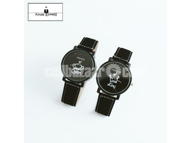 King & Queen Couple Watch for Gift! - 2/5