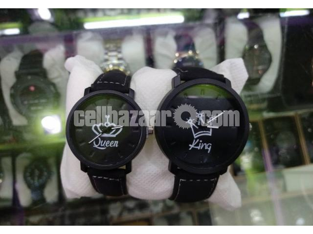 King & Queen Couple Watch for Gift! - 5/5
