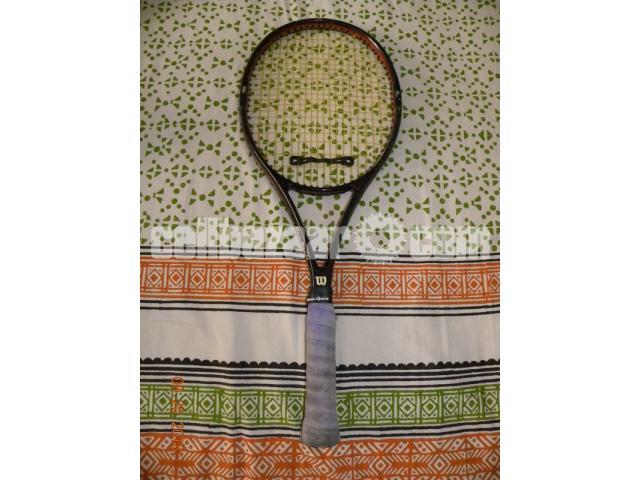 Wilson Pro Staff Tennis Racket - 1/3