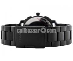 WW0186 Original Fossil Machine Chronograph Black Stainless Steel Chain Watch FS4552 - Image 5/5
