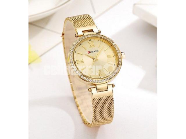 WW0189 Original Curren Ladies Mesh Chain Watch - 1/5