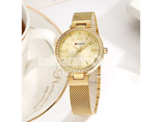 WW0189 Original Curren Ladies Mesh Chain Watch - 3/5