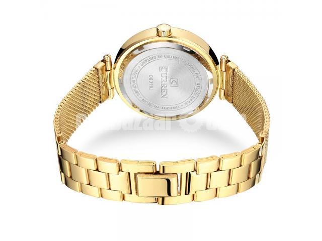 WW0189 Original Curren Ladies Mesh Chain Watch - 5/5