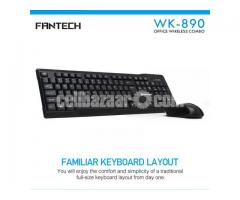 Fantech WK-890 Office Wireless Keyboard Mouse Combo - Image 2/2
