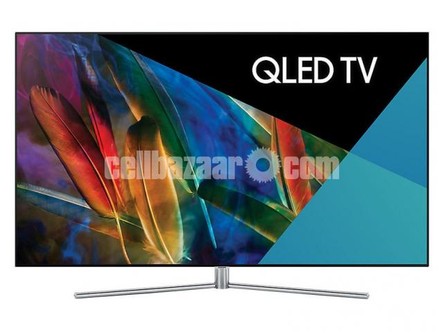 "75"" samsung Q7F QLED 4K TV premium pic Quality - 1/5"