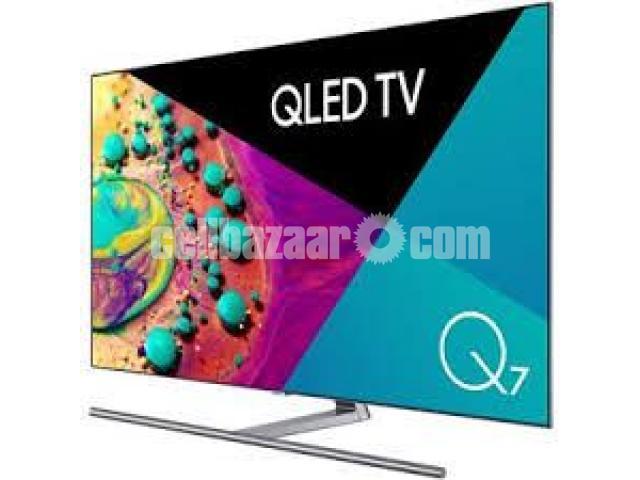 "75"" samsung Q7F QLED 4K TV premium pic Quality - 4/5"