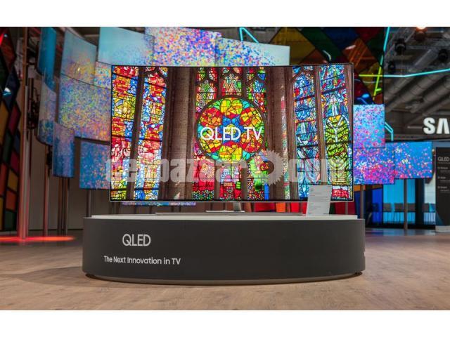 "75"" samsung Q7F QLED 4K TV premium pic Quality - 5/5"