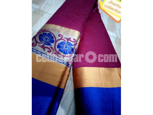 Toshor silk saree - 2/4