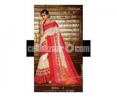 Toshor silk saree - Image 3/4