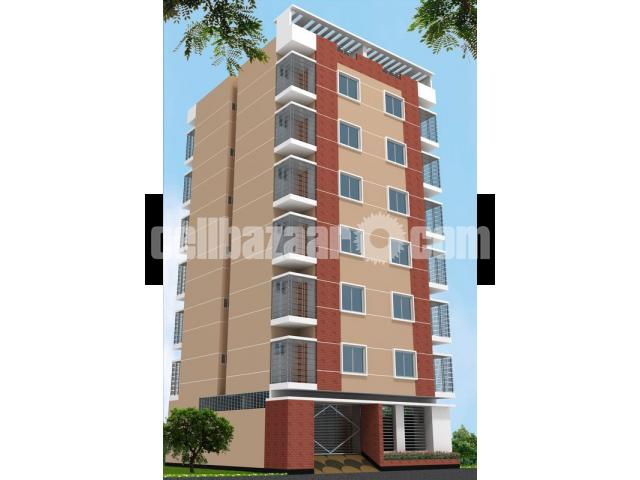 1300sft flat sale @ mirpur - 1/1