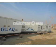 250/275 KvA Generator and 200Kva w/canopy