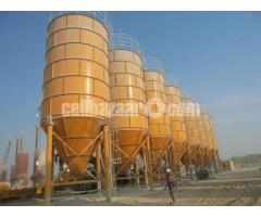 Cement silos 300T capacity
