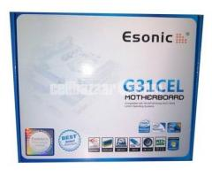 Esonic G31CEL2 Dual Core / Core 2 Duo Support Motherboard