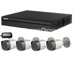 CCTV System Dahua Recorder 4 HD Night Vision Camera