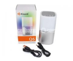 Kisonli - Q6 Colorful Led Portable Bluetooth Speaker