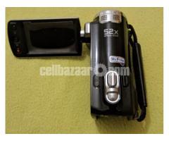 Original Samsung HMX-F90 52x Zoom CMOS HD Digital Camcorder