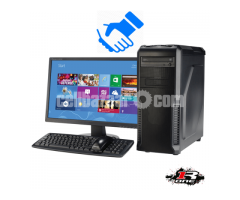 Full Desktop PC i3 HDD 1000GB Ram 4GB Warranty 1Year