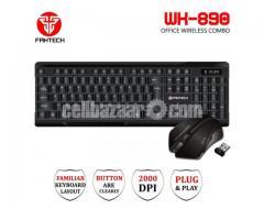 Fantech WK-890 Office Wireless Keyboard Mouse Combo
