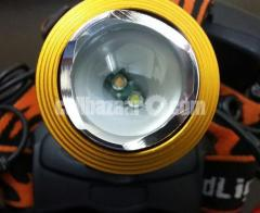 Rechargeable Headlamp / Head Light (Dual LED, 3 Mode)