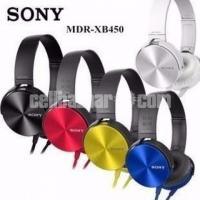 Sony MDR-XB450 On-EAR Extra Base Headphones