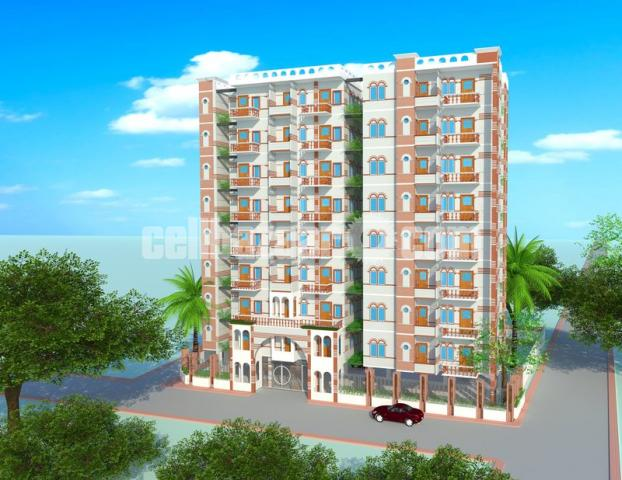 Apartment for sale at Mohakhali, opposite road side Brac University - 5/5