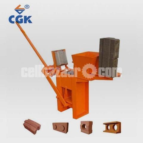 Block Brick machine QMR2 40 manual - 1/5