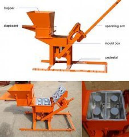 Block Brick machine QMR2 40 manual - 2/5