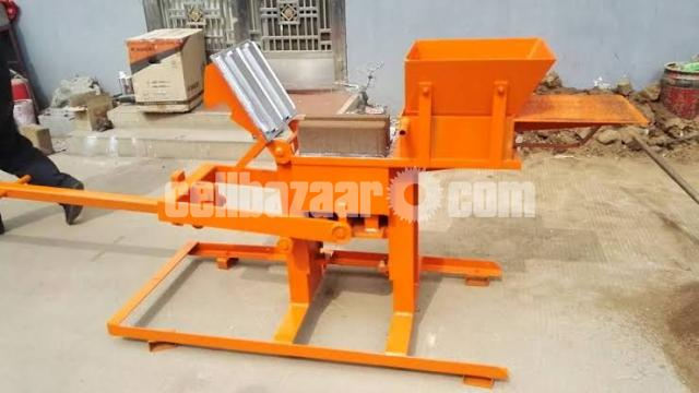 Block Brick machine QMR2 40 manual - 3/5