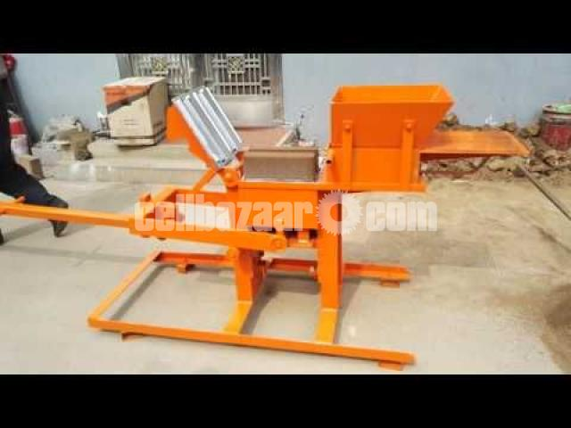 Block Brick machine QMR2 40 manual - 4/5
